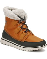 Sorel - Womens Caramel Tan / Black Cosy Carnival Boots - Lyst