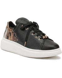 Ted Baker - Womens Black Versailles Ailbe Trainers - Lyst