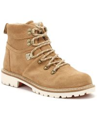 5f54d064a43 TOMS - Womens Toffee Brown Summit Hiker Boots - Lyst
