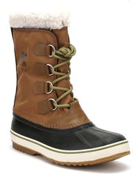 Sorel - Mens Nutmeg Brown / Black 1964 Pac Nylon Boots - Lyst