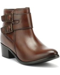 Barbour - International Womens Tan Inglewood Boots - Lyst