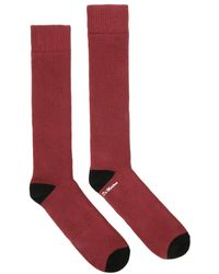 bc52ccb8 Dr. Martens - Dr. Martens Oxblood & Black Doc's Socks - Lyst