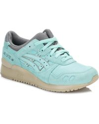 Asics - Womens Cockatoo Gel-lyte Iii Trainers Women's Shoes (trainers) In Blue - Lyst