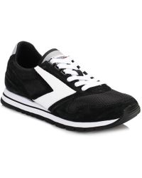 Brooks - Womens Jet Black/white Chariot Trainers - Lyst