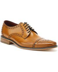 Loake - Mens Tan Calf Foley Brogue Shoes - Lyst