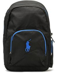 Ralph Lauren | Black / Royal Campus Backpack | Lyst
