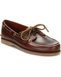 Timberland - Brown 21 Boat Rootbeer Sm Mens Boat Shoes - Lyst