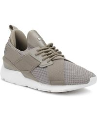 PUMA - Womens Rock Grey Muse X-strap Ep Trainers - Lyst 7f225e8ab
