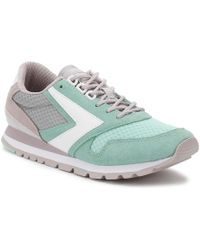 Brooks - Womens Cloud Grey/green Chariot Trainers - Lyst