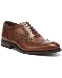 Loake - Kerridge Mens Cedar Brogue Shoes - Lyst