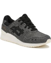 Asics - Gel-lyte Iii Leather Trainers - Lyst
