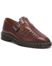 Dr. Martens Dr. Martens Mica Vintage Ox Blood Smooth Shoes