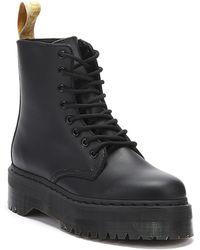 Dr. Martens - Dr. Martens Jadon Ii Vegan Womens Black Mono Boots - Lyst