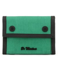 Dr. Martens - Dr. Martens Green Fine Canvas Utility Wallet - Lyst