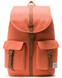 Herschel Supply Co. - Dawson Apricot Brandy / Saddle Brown Backpack - Lyst