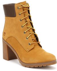 Timberland - Womens Wheat Yellow Allington 6 Inch Boots - Lyst