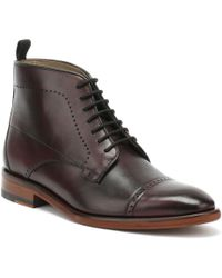 Oliver Sweeney - Armadale Mens Burgundy Boots - Lyst