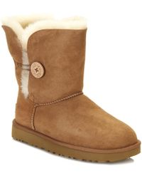 UGG - Bailey Button Ii Chestnut Twinface Boot - Lyst