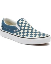bf020bcf69 Vans Unisex Adults  Classic Slip-on Canvas Trainers in Blue for Men ...