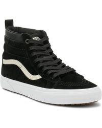 8e6ec34218 Lyst - Vans Unisex Sk8-hi Mte (mte) Black true White Skate Shoe 11.5 ...