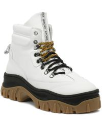 Bronx - Jaxstar Womens White / Black Hi-top Chunky Hiker Boots - Lyst