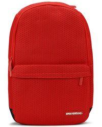 Sprayground - Red Hex Mesh Backpack - Lyst