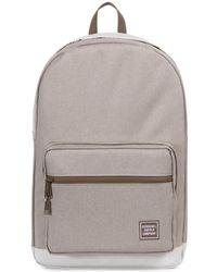Herschel Supply Co. - Light Khaki Crosshatch Pop Quiz Backpack - Lyst
