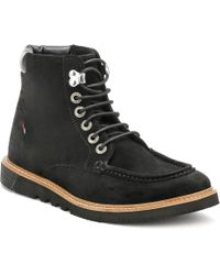 Kickers - Mens Black Kwamie Boots - Lyst