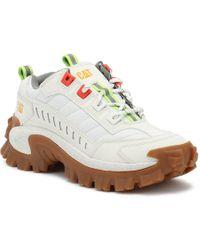 Caterpillar - Intruder White Trainers - Lyst