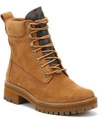 Timberland - Womens Rust Brown Courmayeur Valley Boots - Lyst