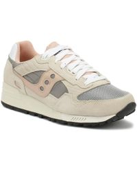 Saucony Shadow 5000 Mens Off White / Grey / Pink Trainers