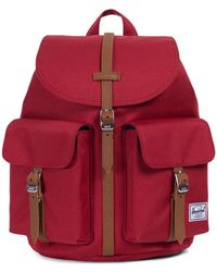 Herschel Supply Co. - Red / Tan Dawson X-small Backpack - Lyst