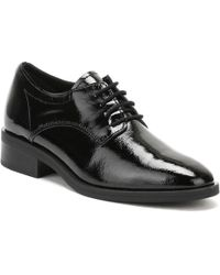 TOWER London - Womens Black Naplack Leather Lace Up Shoes - Lyst