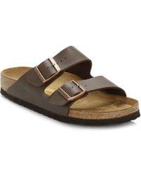 Birkenstock - Brown 'arizona' Double Strap Sandals - Lyst