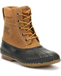 Sorel - Mens Chipmunk Brown / Black Cheyanne Ii Boots - Lyst