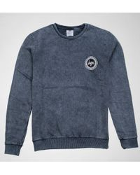 Hype - Acid Wash Crest Crewneck Jumpers & Cardigans - Lyst
