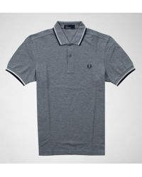 Fred Perry - Fred Perry Twin Tipped Fred Perry Shirt Shirts & Polos - Lyst