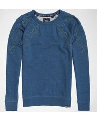 Superdry - Adelaide Broderie Crew Jumpers & Cardigans - Lyst