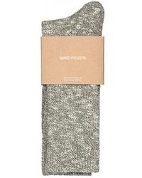 Norse Projects - Ebbe Melange Socks - Lyst