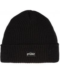 Stussy - Small Patch Watchcap Beanie - Lyst