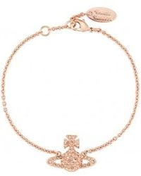 Vivienne Westwood | Grace Bas Relief Bracelet Light Peach | Lyst