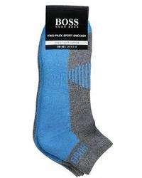 BOSS - 2p As Sport Design Socks - Lyst