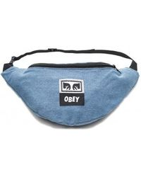 Obey Wasted Zip Bag