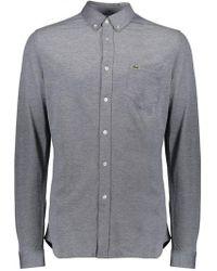 Lacoste - Pocket Shirt Navy - Lyst