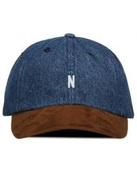 Norse Projects - Denim Sports Cap - Lyst