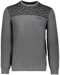 BOSS - Contemp Sweatshirt - Lyst