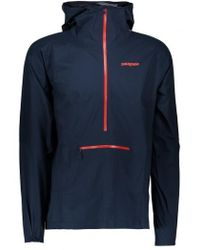 Patagonia - Stretch Rainshadow Pullover - Lyst