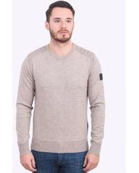 Belstaff - Kerrigan Crew Sweater - Lyst