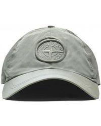 Stone Island - Logo Cap - Lyst