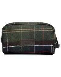 Barbour - Tartan Washbag - Lyst